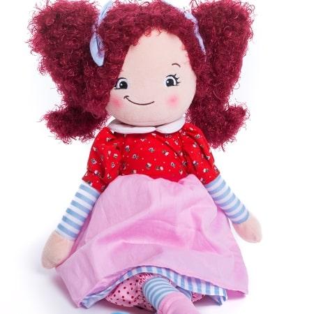 Рыжая кукла Бригитта от 2 490 руб
